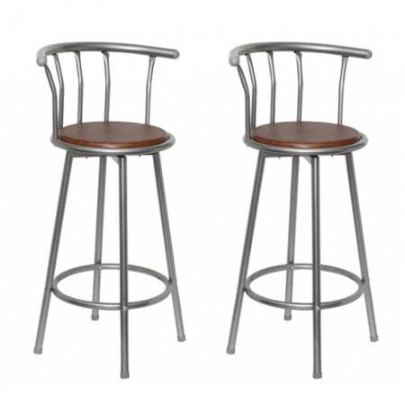 Tabouret de bar louisiane lot de 2 en france for Tabouret de bar exterieur