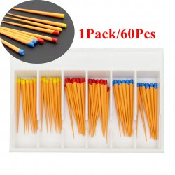 5Paquet/300Pcs Pointes F1-F3 de Gutta Percha Dentaire pour Dentsply Maillefer Pr...