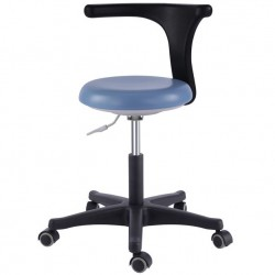 Bureau médical dentaire Tabourets de l'assistant Smart réglable Chaise mobile PU...