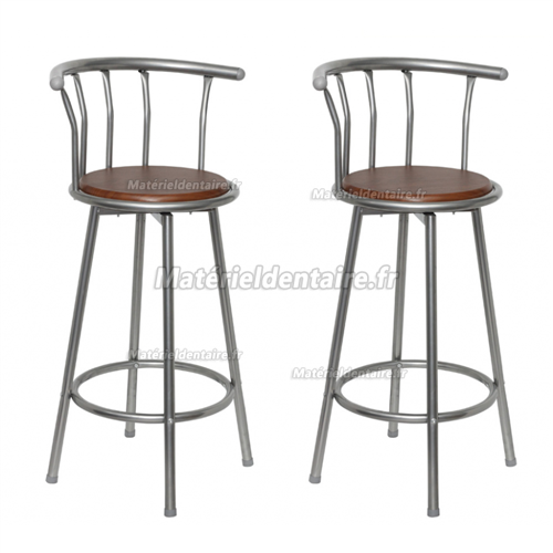 Tabouret de bar Louisiane (lot de 2)
